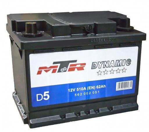 Baterie Mtr Dynamic 62Ah 510 curent pornire