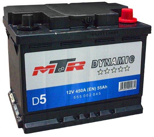 Baterie MTR Dynamic L2 55AH
