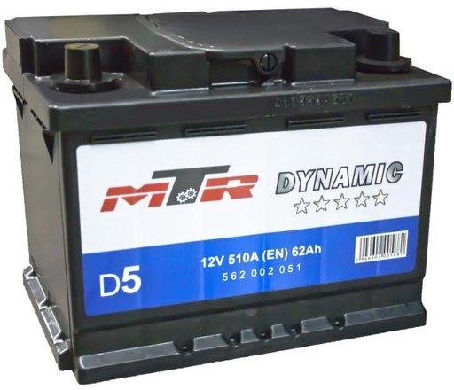 Baterie mtr dynamic l2 62ah 510a