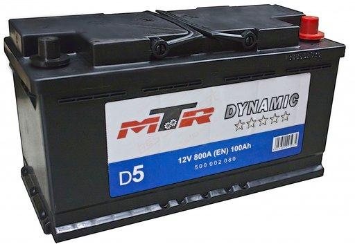 Baterie MTR Dynamic L5 100AH 800A