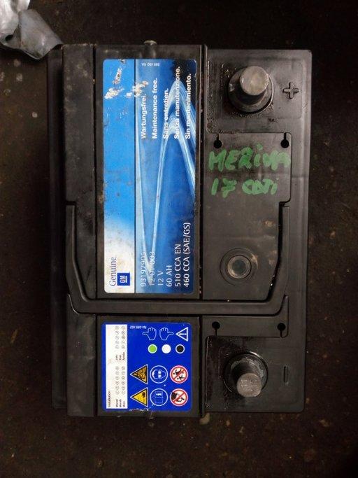 Baterie Opel Meriva 12V 60AH