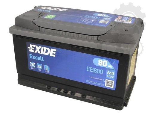 Baterie pornire exide 80ah 640