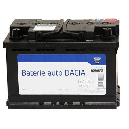 Baterie pornire originala dacia 70ah