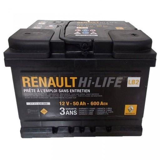 Baterie Renault Hi-Life 50Ah 7711130088