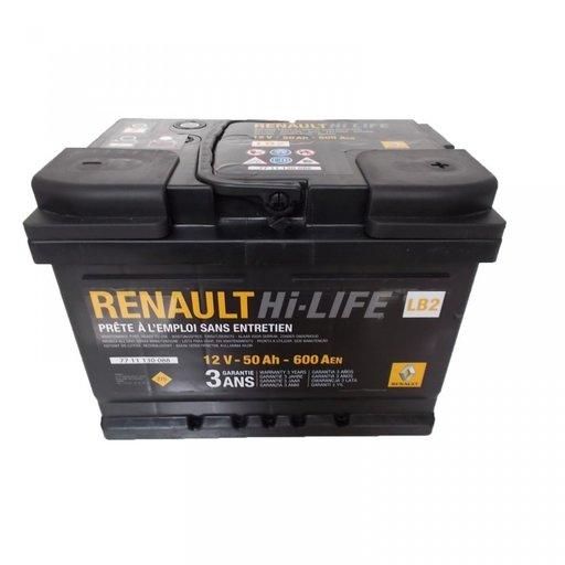 BATERIE RENAULT LB2 50AH 600A