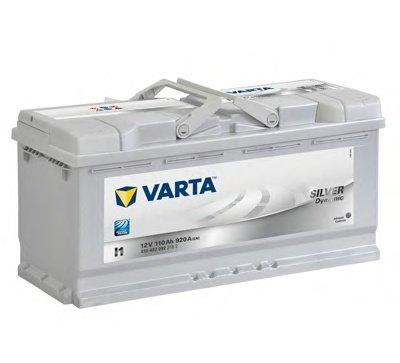 BATERIE VARTA 12V 110AH 920A SILVER DYNAMIC I1 393X175X190MM +DR (6104020923162)