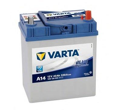 BATERIE VARTA 12V 40AH 330A BLUE DYNAMIC A14 187X127X207MM +DR (5401260333132)