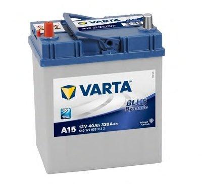 BATERIE VARTA 12V 40AH 330A BLUE DYNAMIC A15 187X127X207MM +STG (5401270333132)