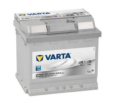 BATERIE VARTA 12V 54AH 530A SILVER DYNAMIC C30 207X175X190MM +DR (5544000533162)