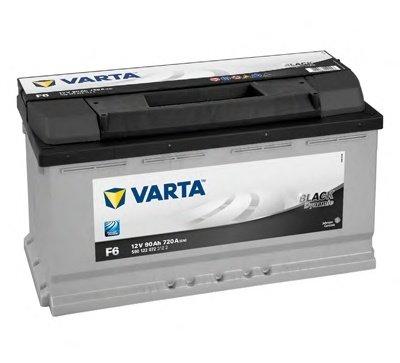 BATERIE VARTA 12V 90AH 720A BLACK DYNAMIC F6 353X175X190MM +DR (5901220723122)
