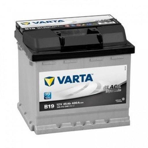 Baterie Varta Black 45Ah B19 5454120403122