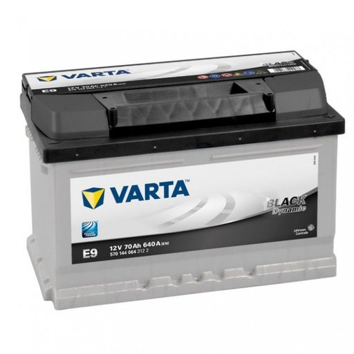 Baterie Varta Black 70Ah E9 5701440643122