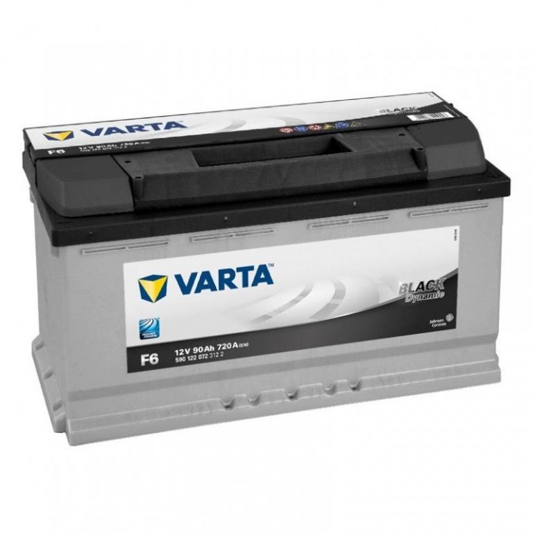 Baterie Varta Black 90Ah F6 5901220723122