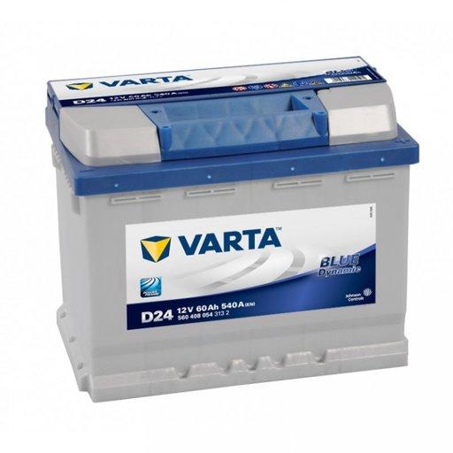 Baterie Varta Blue 60Ah D24 5604080543132