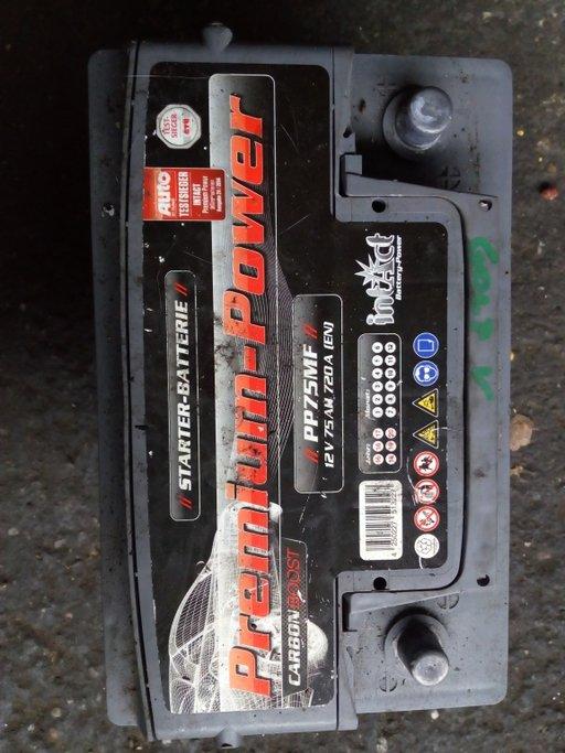 Baterie VW Golf 5 12V 75AH 720A