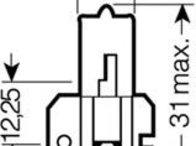 Bec, far principal CITROËN CX Mk II, ALFA ROMEO 90 (162), CITROËN BX (XB-_) - OSRAM 64173
