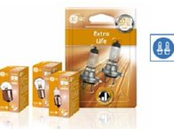 Bec H3 Extra Life 55W Pk22s 12V GENERAL ELECTRIC