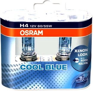 BEC H4 COOLBLUE INTENSE DUOBOX - OSRAM - 64193CBI-HCB