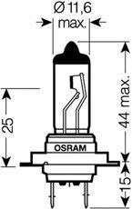 BEC H7 Night Breaker Unlimited - OSRAM - 64210NBU