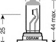 Bec H7 - OSRAM - 64210NR1-01B