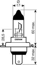 Bec HS1 - OSRAM - 64185NR5-01B
