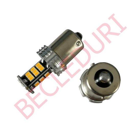Bec led semnalizare PY21W BAU15S 30 SMD 3020 porto