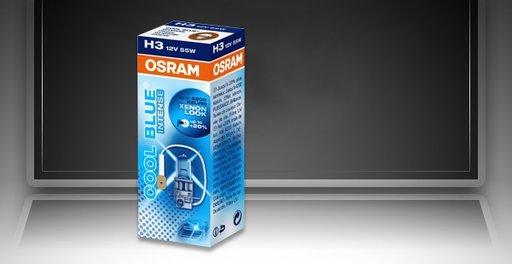 Bec Osram Cool Blue Intense H3 12V/55W