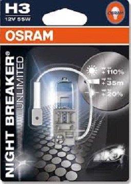 Bec Osram Night Breaker Unlimited H3 12V/55W