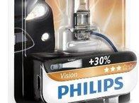 Bec Philips H3 Vision 12V 55W 12336PRB1 - piesa NOUA