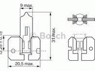 Bec, proiector ceata CITROËN BX (XB-_), CITROËN BX Break (XB-_), RENAULT ENCORE (B/C37_) - BOSCH 1 987 302 022