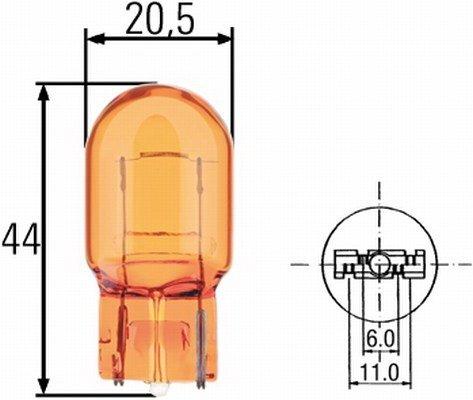 BEC WY21W 12 V - HELLA - 8GP 009 021-002