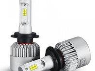 Becuri/Bec LED S2 Lumileds cu chip Philips H3 - (set becuri)