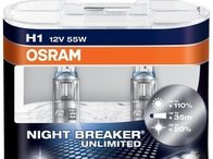 Becuri H1 Osram NIGHT BREAKER UNLIMITED