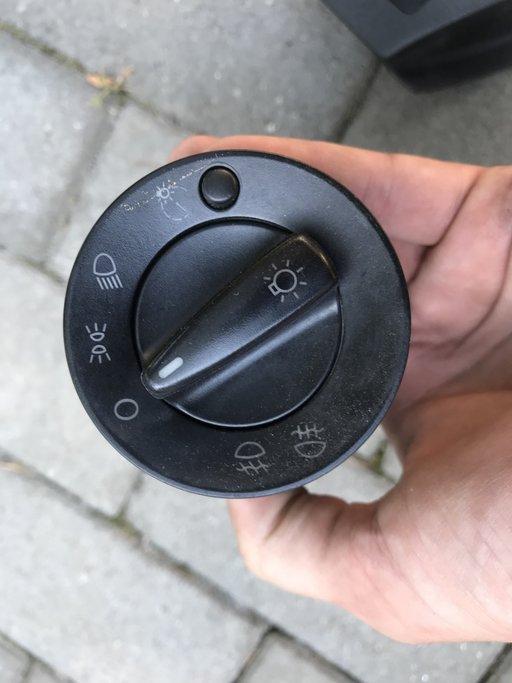 Bloc lumini Skoda Octavia 1 reglaj intensitate si proiectoare