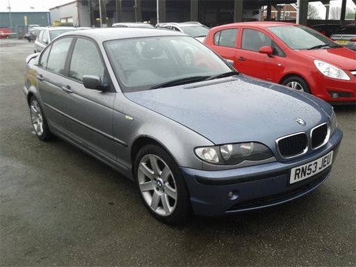 BMW 3 SERIES 320d 1995cc Diesel Manual 6+1 Euro 4 150cp an 2004 cod motor M47D20O1 (M47N)