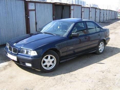 BMW 316i, an 1995, motor 1.6B