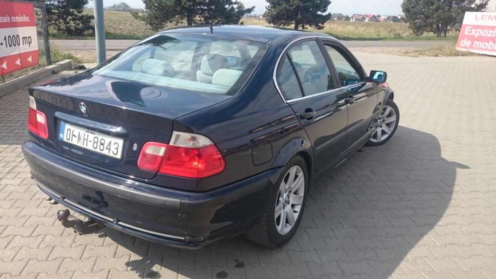 BMW E46 an 2000, albastru, 330D