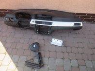 BMW E90 E91 E92 E93 Kit Airbag Plansa Bord Navigatie