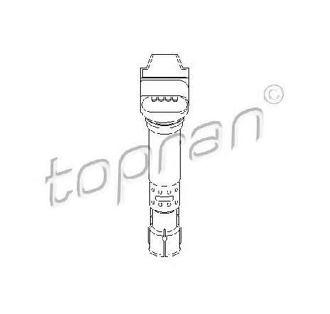 Bobina de inductie AUDI A1 ( 8X1, 8XK, 8XF ) 05/2010 - 2019 - piesa NOUA - producator TOPRAN 109 039 - 308604