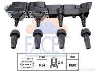 Bobina de inductie PEUGEOT 206 hatchback (2A/C) FACET 9.6307