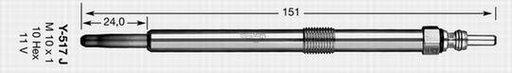 BUJIE INCANDESCENTA - NGK - 91766