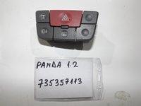 BUTON AVARIE Fiat Panda , 2007, 1.2 benzina, 44kw, Euro 4 tip motor 188A4000