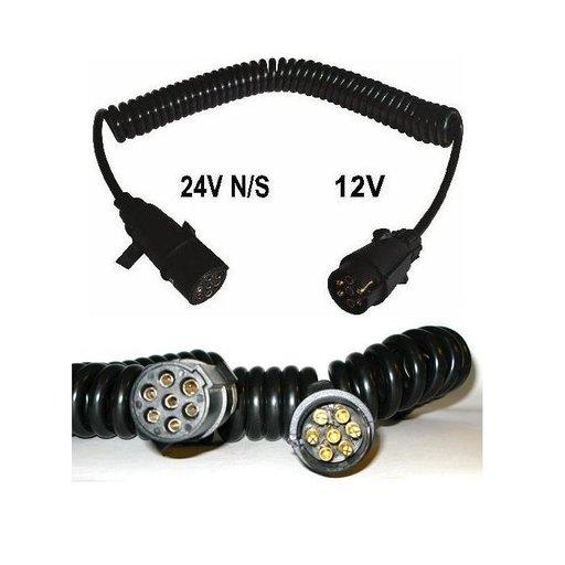 Cablu electric mama 7 poli, 12V/24V, stecher plastic | Piese Noi | Livrare Rapida | 3862FP45