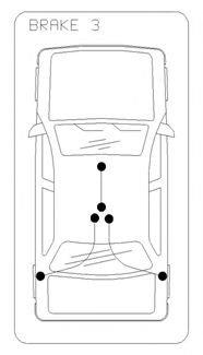 Cablu, frana de parcare FORD GALAXY (WA6) (2006 - 2015) COFLE 11.5496 - piesa NOUA