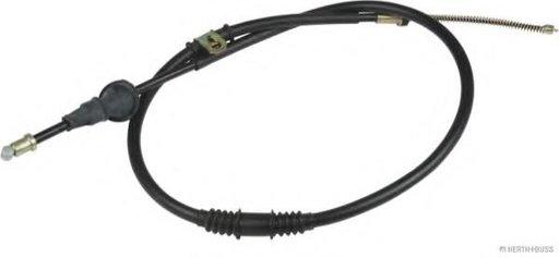 Cablu, frana de parcare PROTON WIRA hatchback (C9_C, C9_S), PROTON WIRA (C9_S), PROTON SATRIA (C9_M) - HERTH+BUSS JAKOPARTS J3930700