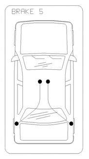 Cablu, frana de parcare SEAT IBIZA II (6K1) (1993 - 1999) COFLE 19.102E - piesa NOUA