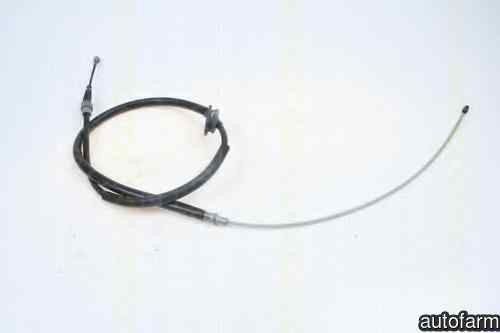 Cablu, frana de parcare VW NEW BEETLE (9C1, 1C1) TRISCAN 8140 29186