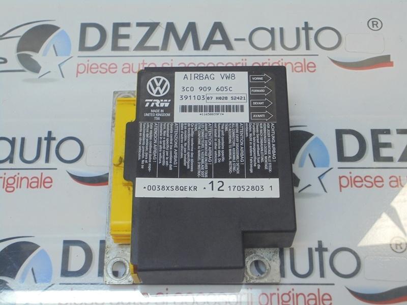 Calculator airbag, 3C0909605C, Vw Passat (3C2) 2 0tdi (id:279178)