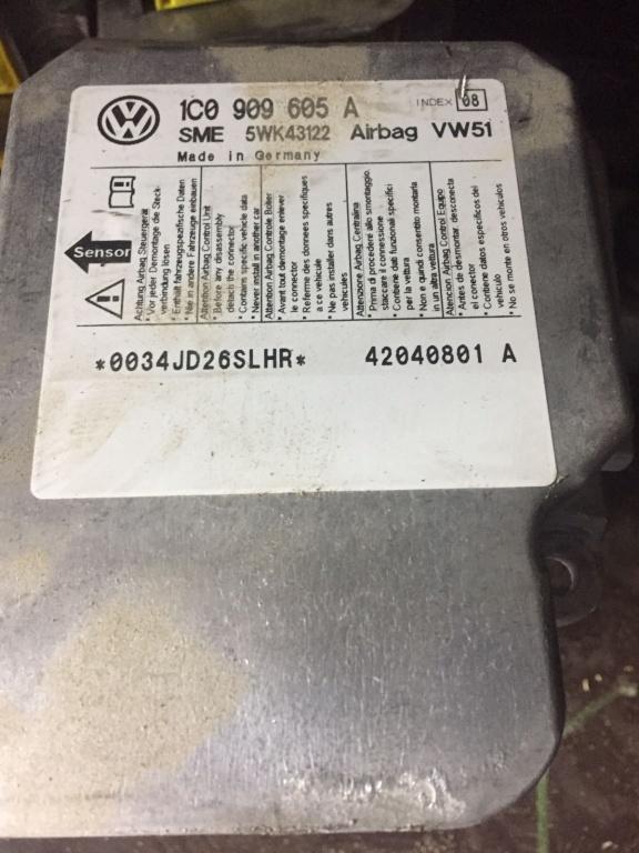 Calculator airbag VW Golf 4 Passat Jetta cod 1C0909605A
