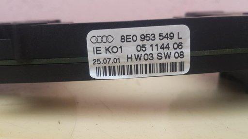 Calculator coloana directie Audi A4 B6 COD 8E0953549 L